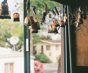 tea, vintage, and window image