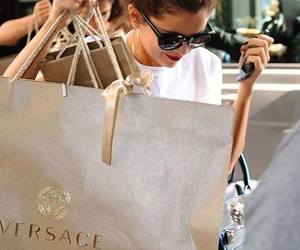 Versace and shopping image