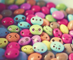 colour, smarties, and cute image