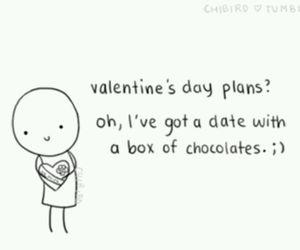 chocolate, valentine, and valentines day image