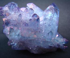 crystal, purple, and blue image