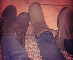 boyfriend, timberland, and brown image