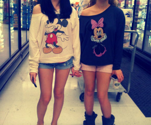friends, disney, and mickey mouse image