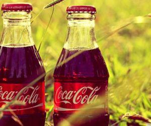 coca cola, coca-cola, and drink image
