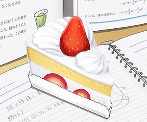 anime and cake image