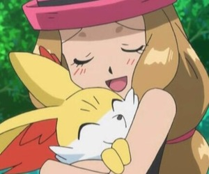 pokemon, serena, and yvonne image