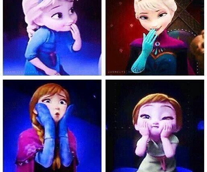 animation, anna, and frozen image