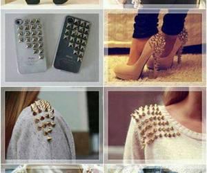 shoes, studs, and clothes image