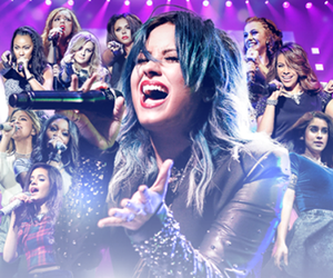 demi lovato, fifth harmony, and little mix image