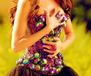 selena gomez, dress, and love you like a love song image