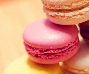 macarons, sweety, and i love delicious food image