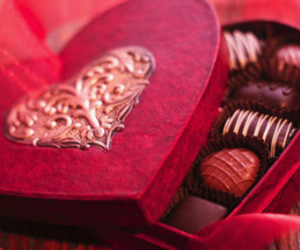 chocolate, heart, and sweet image