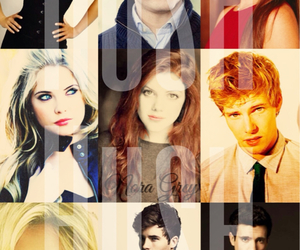 cast, georgie henley, and Hunter Parrish image
