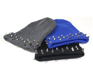 beanie, black, and blue image