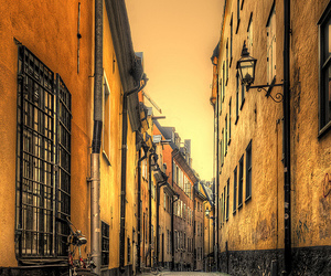 street and bicycle image