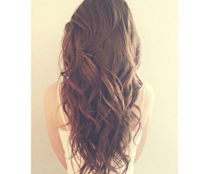 brown, brunette, and hair image