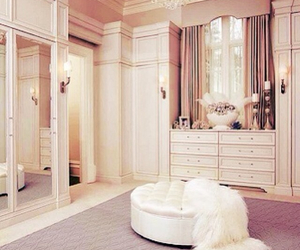 room, white, and closet image