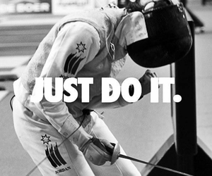 fencing, foil, and nike image