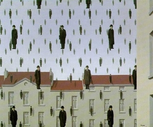 art, magritte, and surrealism image