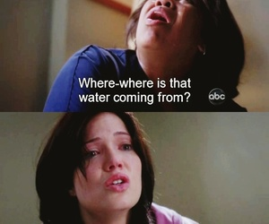 grey's anatomy, cry, and miranda bailey image
