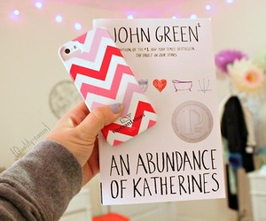 book, john green, and iphone image