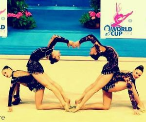 heart, gymnastics, and sport image
