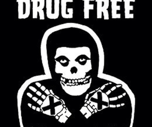 drug free and straight edge image