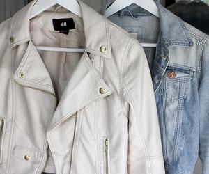 fashion, jacket, and H&M image