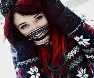alt girl and red hair image