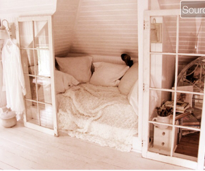 bedroom, plain, and girly image
