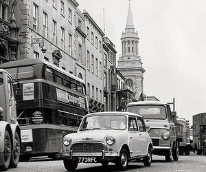 london, car, and vintage image