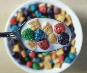 american, cereal, and colours image