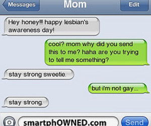 funny, mom, and text message image