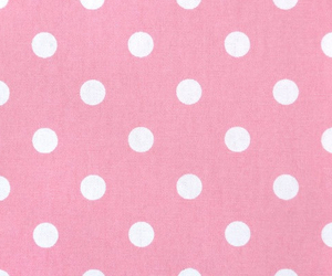 pink, polka dot, and wallpaper image