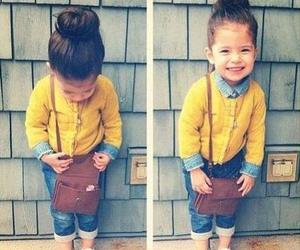 fashion, hair, and kids image