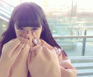 girl, かわいい, and cute image