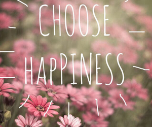 happiness, happy, and flowers image