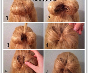 bow, tutorial, and cute image