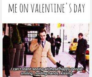 Valentine's Day, gossip girl, and chuck bass image