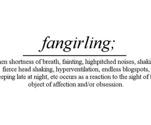 fangirling and fangirl image