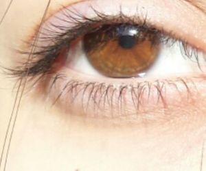 brown eyes, eyes, and eye colour image