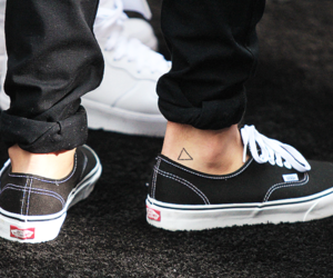 vans, louis tomlinson, and tattoo image