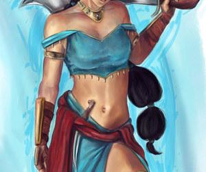 disney princess and jasmine image