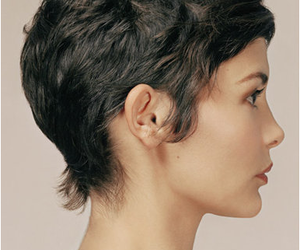 audrey tautou and hair image