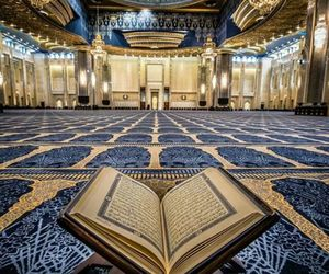 islam, mosque, and quran image