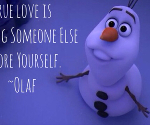 disney, frozen, and olaf image
