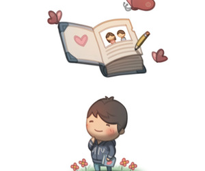 aww, book, and diary image