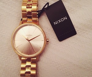 girly, gold, and inspiration image