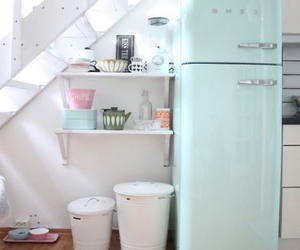 kitchen, pastel, and home image