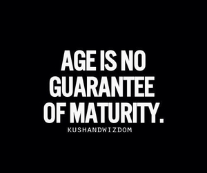 maturity, life, and quote image